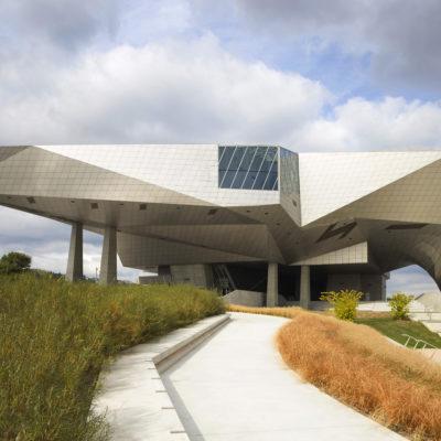 Musée des Confluences, Lyon. Architecte : Coop Himmelb(l)au