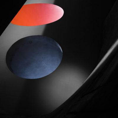 """""""Communauté sphérique"""" / Photo utilisé comme affiche pour la présentation de la conférence sur le Corbusier à Montpellier."""