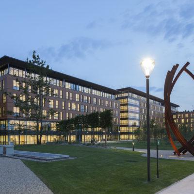 Bureaux de l'agence Plastic Omnium, Lyon. Architecte : Pascal Martin