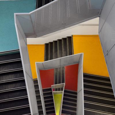 Escalier université Lyon