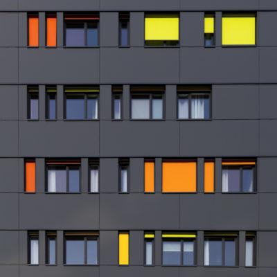 """Fenêtres colorées """"coups de soleil"""""""
