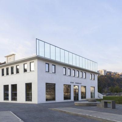 Le port Rambaud, Lyon. Architecte : Z architecture