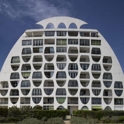 Le Poséidon, La Grande-Motte. Architecte : Gilles Balladur