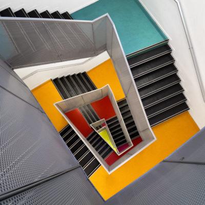 """Escalier """"Paliers colorés"""""""