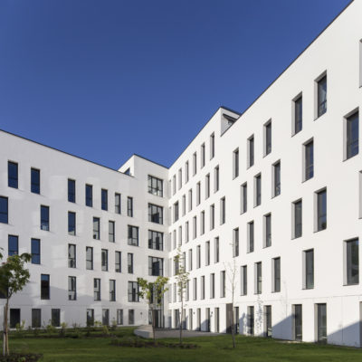 Gallin City, Villeurbanne. Architecte : BBC Architectes et Associés