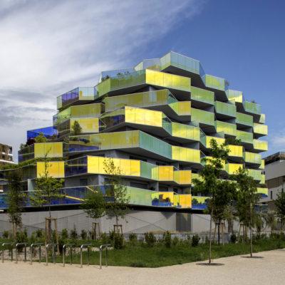 Résidence Koh I Noor, Montpellier. Architecte : B.Büher