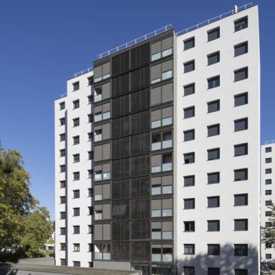 Résidence Le Prainet, Décines-Charpieu. Architecte : BBC Architectes et Associés