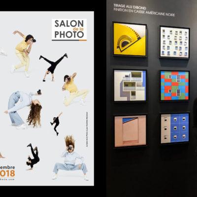 Exposition de 9 photos au Salon de la Photo à Paris sur le stand de Labo photo
