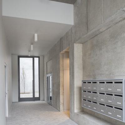 Résidence Hôtel de Nice, Lyon 2ème. Architectes : Clément Vergély architectes. Maitre d'ouvrage : HMF - 3F / Immobilière Rhône Alpes
