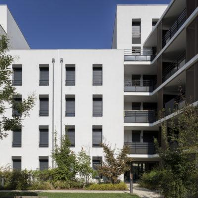 Résidence 9 Town, Lyon 9e. Architectes : Sud Architectes / Promoteur : MIPROM