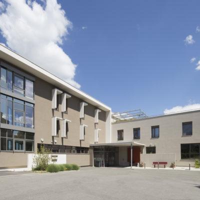 Ephad Notre dame de l'isle,   Vienne. Architectes : ASKIA - Sylvain Defelix. Maitre d'ouvrage : Oeuvre du bon pasteur de Vienne.