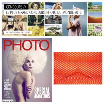 Lauréat de la catégorie Graphisme. Concours réalisé par le magazine PHOTO, 2016.