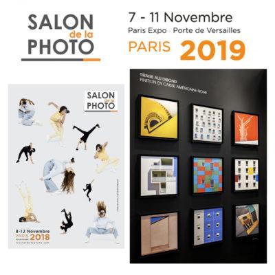 Exposition au Salon de la Photo à Paris sur le stand de Labo photo.