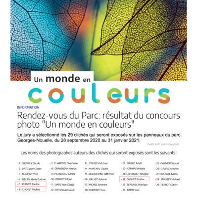 """Sélectionnée pour exposé du 28 septembre au 31 janvier lors de l'expo """"Un monde en couleurs"""" qui se déroulera à Chalon su Saône"""