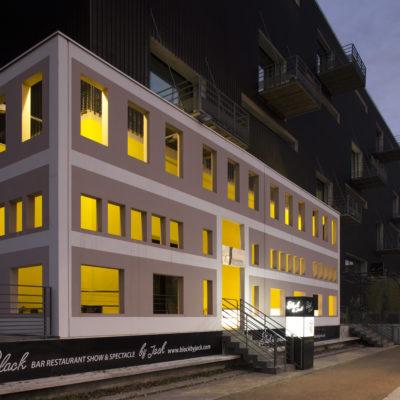Ancien bâtiment des Douanes, Lyon. Architecte : Jean-Michel Wilmotte et œuvre de l'artiste Krijn de Köning
