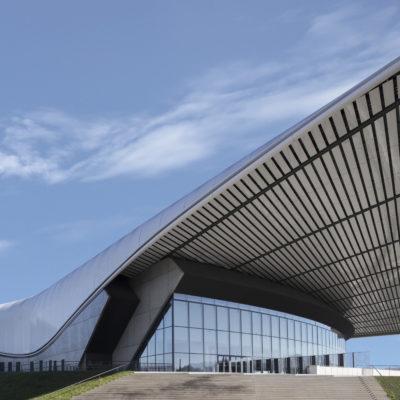 Zénith, Saint-Étienne. Architecte : Norman Foster