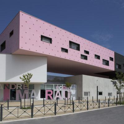 Groupe scolaire André Malraux, Montpellier. Architecte : Dominique Coulon & associés