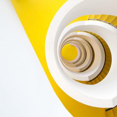 """Escalier """"Tarte citron meringuée"""""""