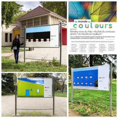 """Gagnante du concours """"un monde en couleurs"""" et exposante au """" RDV du parc"""" à Chalon sur Saône"""